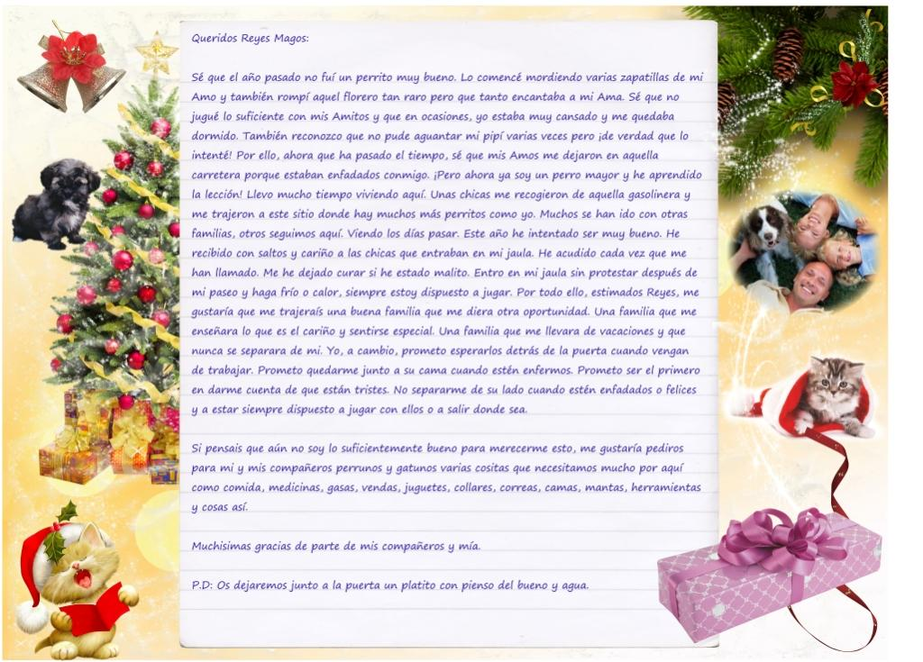 Carta a Los RRMM